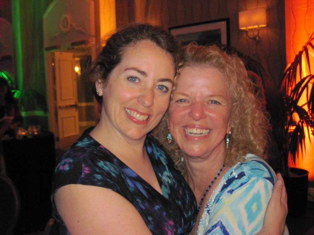 Diane with Donna Eden, the creator of the Eden Method